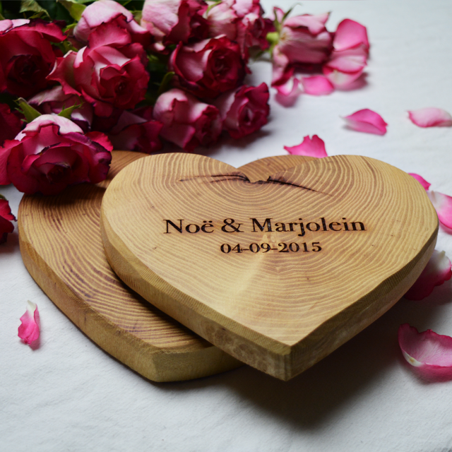 Houten hart *valentijn special*