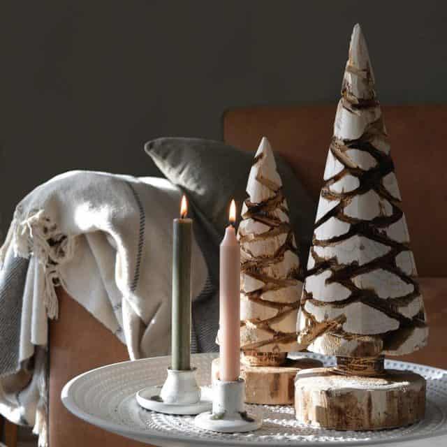 Carved kerstboompje